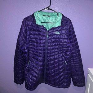 Purple Northface Jacket Size XL